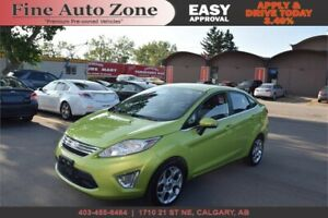 2011 Ford Fiesta SEL Leather Heated Seats Bluetooth LOW KM