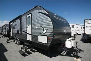 New Catalina rear living travel trailer only $24,611