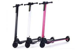 Black Aluminum Folding Electric Scooter $399 Sale