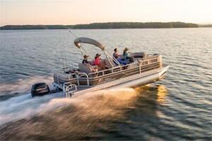 2019 Sun Tracker Boats Sportfish 22XP3 Pontoon W/200L