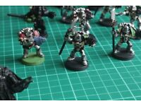 Tau, Grey Knights and carry case