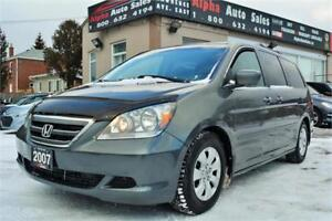 2007 Honda Odyssey EX *8 Passenger* No Accidents* CERTIFIED!