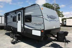 New Springdale Couples Trailer $99 BW!