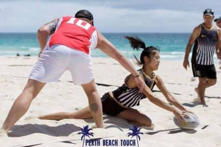 "Wanted: ""FEMALE PLAYERS WANTED!"" PERTH BEACH TOUCH RUGBY"