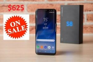 SELLING BRAND NEW SAMSUNG GALAXY S8 MID-NIGHT BLACK UNLOCKED