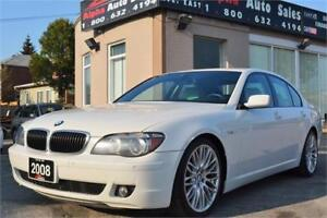 2008 BMW 7 Series 750i Sedan *NO ACCIDENTS* CERTIFIED & WARRANTY