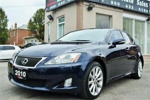 2010 Lexus IS 250 AWD *ONLY 100k KM *NAV*BACKUPCAM* CERTIFIED!