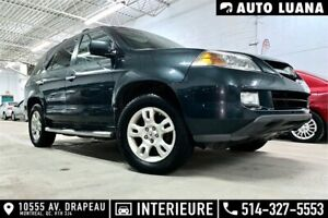 2006 Acura MDX 4x4/7 PLACES/BLUETOOTH/CUIRE/TOIT/***153,000km***