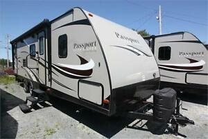 "2016 Keystone Passport Grand Touring 2810BH  ""SPRING SPECIAL"""