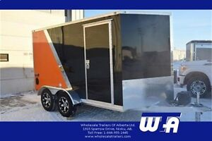 2017 ALL ALUMINUM Motorcycle Enclosed Trailer