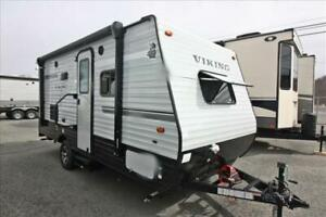 Coachmen Viking 17FQS - Lightweight With a Slide-out