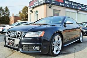 2009 Audi S5 4.2L Quattro *1 OWNER* NO ACCIDENTS* ONLY 136k KM*