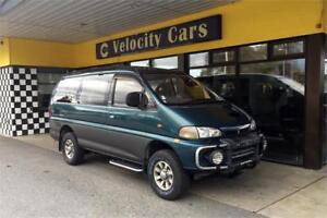 1995 Mitsubishi Delica LONG BASE 4WD Super Exceed Crystal Light