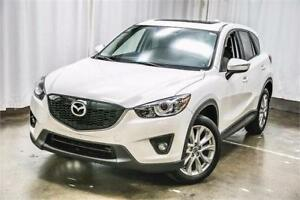 2014 Mazda CX-5 GT-AWD-NAVIGATION-CAM-PANO-LEATHER-2 SETS WHEELS