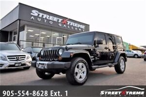 2011 Jeep Wrangler Unlimited Sahara|LEATHER|NAVI|ACCIDENT FREE
