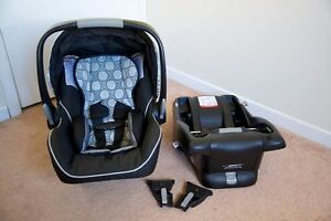 Car seat Britax B-Safe + Base + adapters for stroller