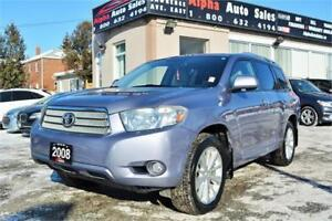 2008 Toyota Highlander Hybrid Limited *NO ACCIDENTS* CERTIFIED!