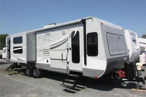 Open Range Travel Trailer with Bunks!