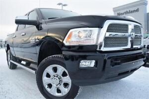 2014 Ram 3500 LONGHRN 6.7L Turbo | Remote Start | Backup Cam |