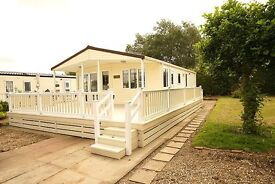 LUXURY LODGE FOR SALE IN SKEGNESS, LINCOLNSHIRE EAST COAST, UPGRADE YOUR CHEAP STATIC CARAVAN