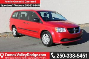 2016 Dodge Grand Caravan SE/SXT ONE OWNER, KEYLESS ENTRY, CRU...