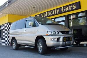 1998 Mitsubishi Delica Space Gear 4WD Low Roof Sunroof 7 seater