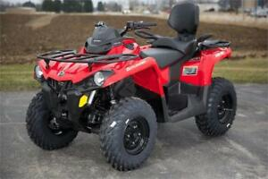 CAN AM OUTLANDER 450CC ATVS AMAZING PRICING COME GET YOURS TODAY