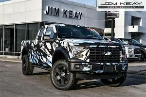 2016 Ford F-150 XLT SuperCab 5.0L V8 ENGINE, TOW PACKAGE, 8-ft.