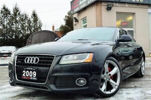 2009 Audi A5 S-Line 3.2L *6 Speed Manual* ONLY 139K KM* CERTIF!!
