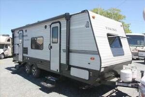 Coachmen Viking 21FQS - Lightweight Couples' Trailer with Slide!
