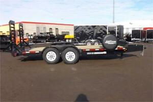 18' Equipment Trailer with 7000lb Axles & Much More