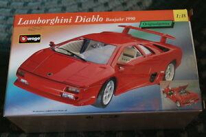 Burago 1:18 Diamond Collection - Lamborghini Diablo - Rare 1990