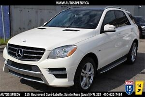 2012 MERCEDES ML350 BLUETEC 4MATIC NAVI/CAMERA/PANORAMIC/PREMIUM