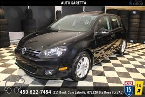 2011 Volkswagen Golf TDI HATCHBACK, TOIT, BLUETOOTH, SIEGES CHAU