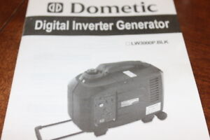 BRAND NEW DOMETIC DIGITAL INVERTER GENERATOR LW3000