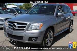 2010 MERCEDES-BENZ GLK 350 4MATIC/AWD, TOIT PANORAMIC, MAGS 20''