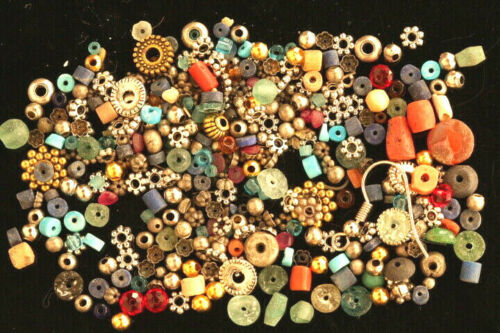 Mixed Roman Glass Beads Egypstion New Kingdom Faienc Coral Turquoise Beads &More
