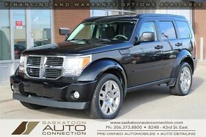 "2008 Dodge Nitro 4x4 ** 20"" WHEELS ** LEATHER ** LOW KM **"