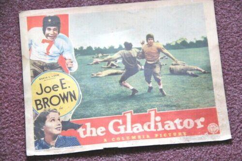 The Gladiator 1938 original lobby card