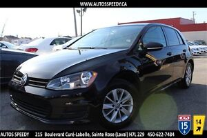 2015 GOLF TSI, 18.539 KM , AUTOMATIQUE, GARANTIE, CLEAN CARPROOF