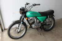 AUCTION OF (36) VINTAGE MOTORCYCLES