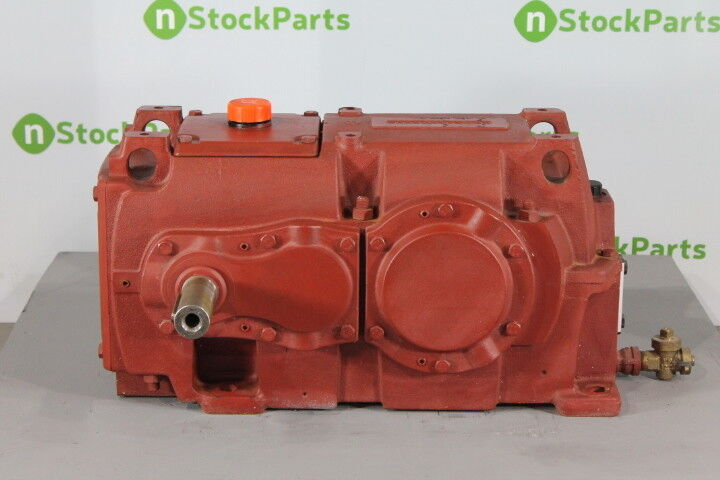 Hansen Qhpb2-rln-14 Nsnb - Parallel Shaft Gear Reducer 13.995:1 Ratio 125 Rpm 12