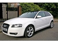 2008 AUDI A3 1.4 TSI, SPECIAL EDITION SPORT 123 BHP, like focus, golf, astra gtc, bmw 1 series