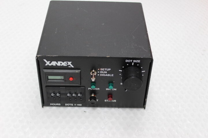 3715  Xandex 350-0002 Pneumatic Die Marker Controller, Standard