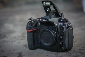 Nikon D700 Body only - Full Frame camera - 15800 shutter count