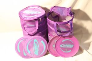 Gliding Fitness Discs and Cases