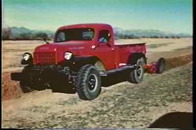 DODGE POWER WAGON 1950 Promotional Films on DVD  Color  DVD403 1950 Dodge Power Wagon
