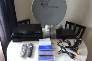 Bell ExpressVu Dish, Receivers, Smart Cards, Remotes, Cables