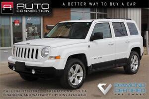 2011 Jeep Patriot North 4x4 ** VERY LOW KM ** MOONROOF **