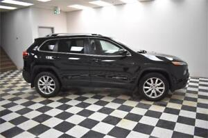 2015 Jeep Cherokee Limited-LEATHER * NAV * UCONNECT